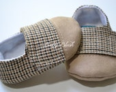 Brown Baby Boy Soft Soled Baby Shoes - Infant Shoes