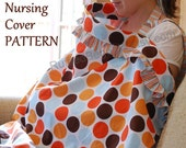 PATTERN for Ruffled Nursing Cover Up Breastfeeding Apron PDF Pattern