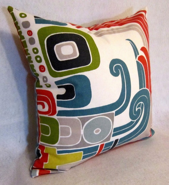 Decorative Pillow cover in Abstract Design