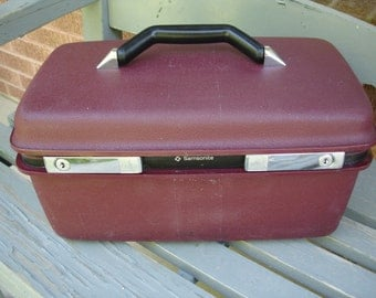 Vintage Train Case- See our site for the biggest selection of Train Cases