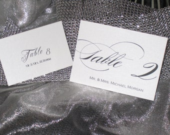 Custom Place Cards - Calligraphy Font