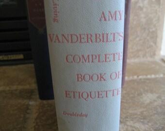 Vintage Amy Vanderbilt's Complete Book of Etiquette