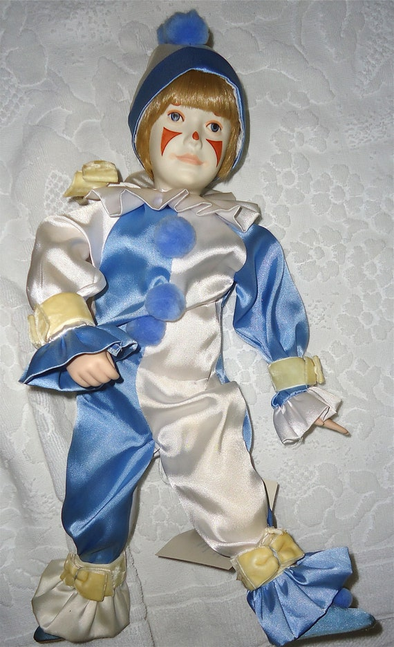 Cybis Porcelain Bisque Clown Doll Gift Of Innocence 1991
