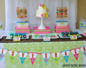 Love Shack Luau Party - Printable Full Collection - as seen on Hostess with the Mostess
