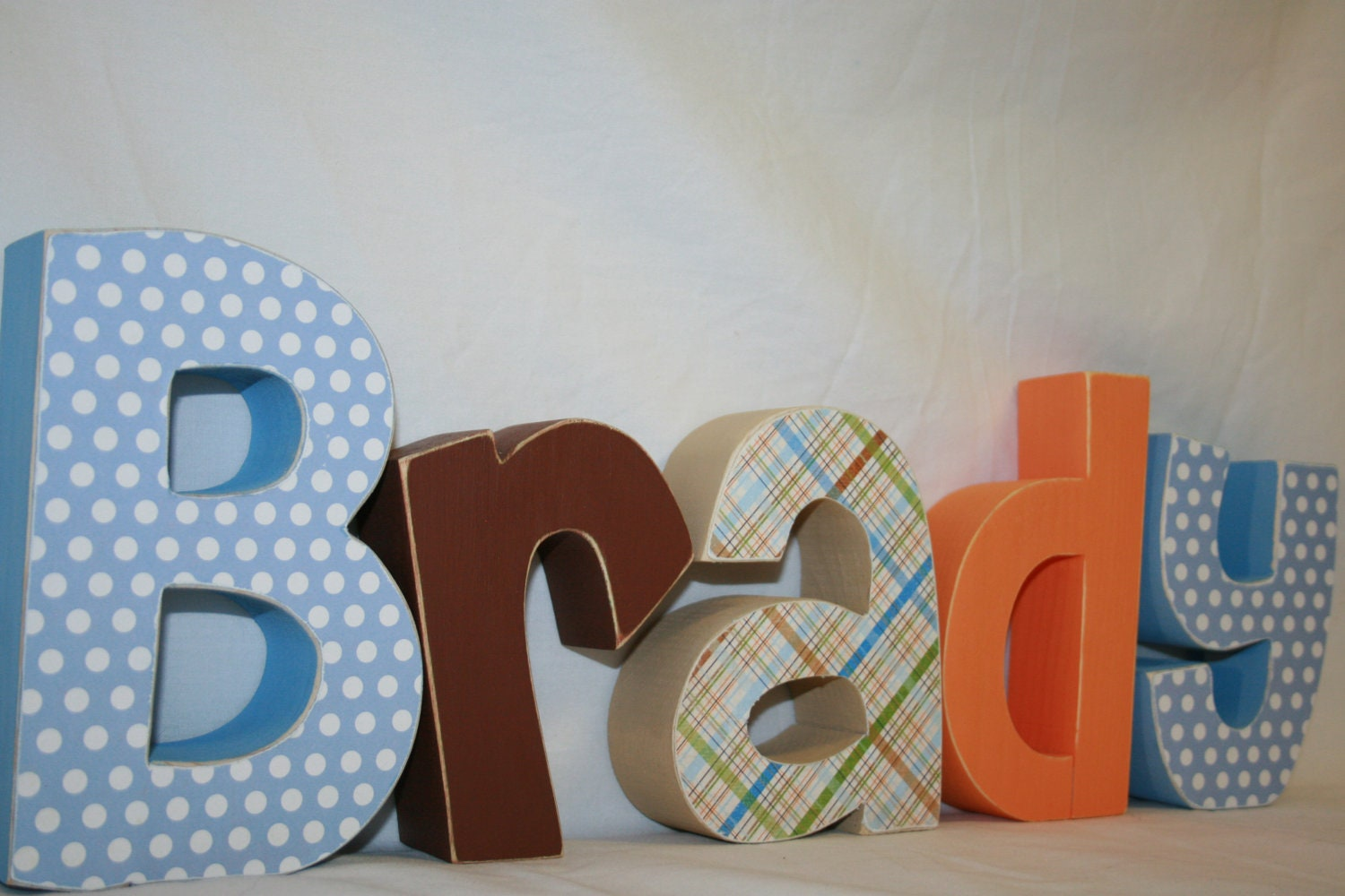 Baby Boy Name Letters Personalized Wood By WoodenWondersShop