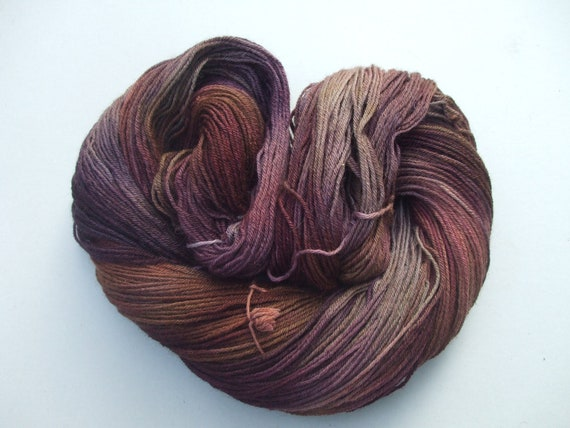 Vote With Your Feet 4 Ply Sock Yarn. The Copper Beeches.