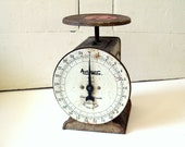 Old Kitchen Scale Auto Wate Metal Scale Early to Mid 1900s SALE