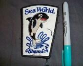 1980s Seaworld Souvenir Patch