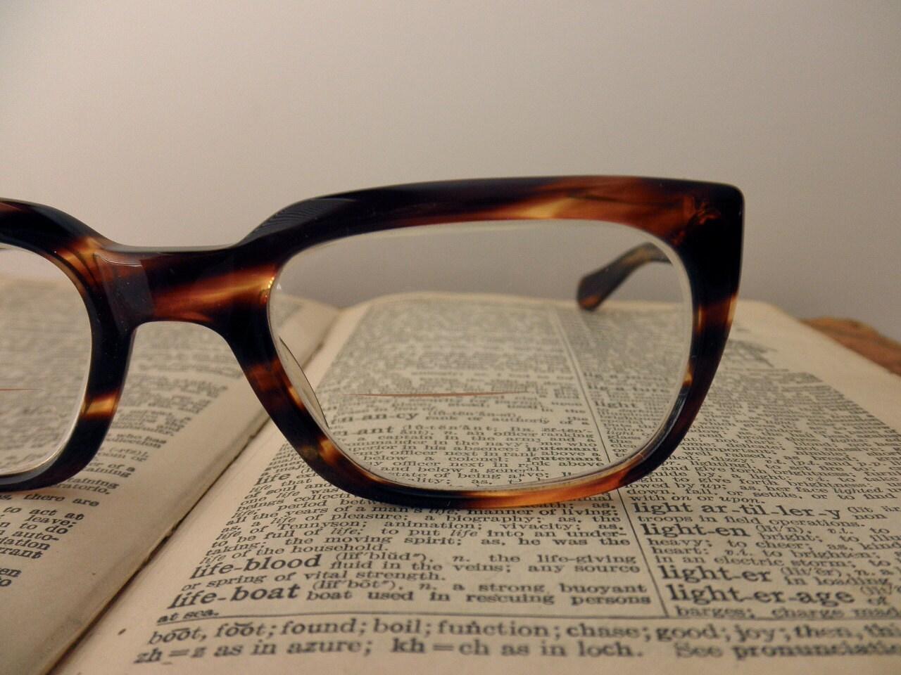 vintage Rodenstock tortoise shell eyeglass frames glasses