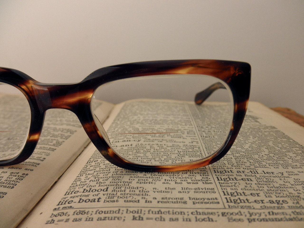 Vintage Tortoise Shell Eyeglass Frames : vintage Rodenstock tortoise shell eyeglass frames glasses