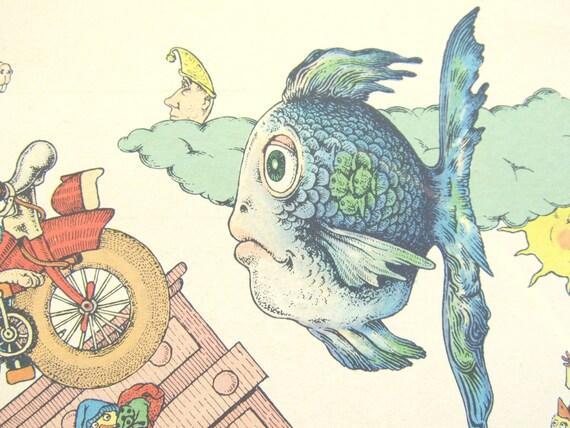 Sixties Animal Character Print