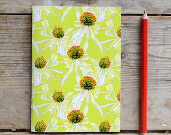 Hello Yellow Unlined Notebook