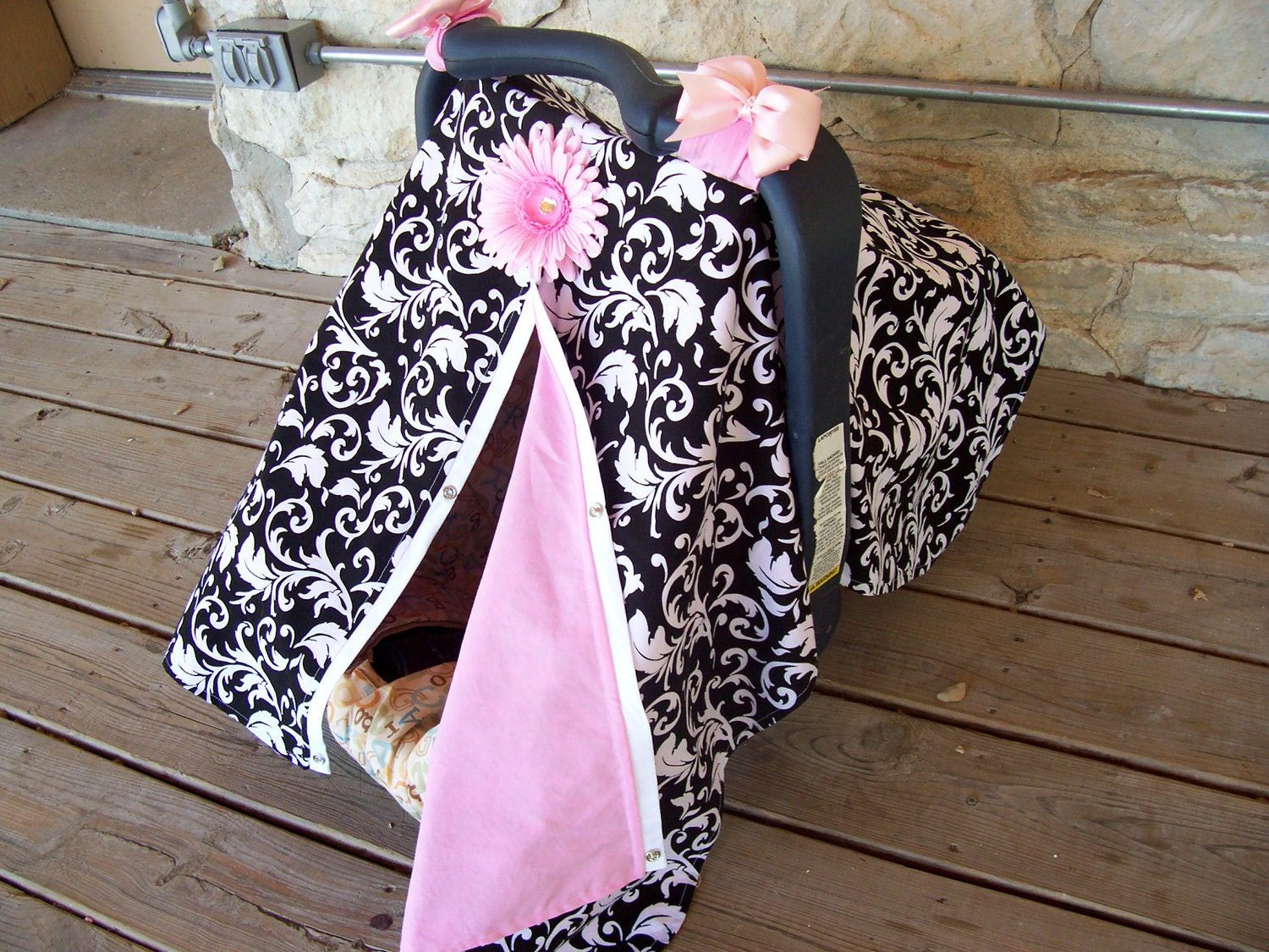 3 In 1 Car Seat Canopy Nursing Cover And By