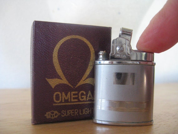 1960s Vintage Omega Super Lighter Made in Japan Automatic Lighter Guaranteed