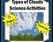 Teaching Resources, Teaching Materials, Teacher, Homeschool, Homeschooling, Curriculum Printable Science Teacher Worksheets Weather Clouds
