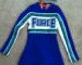 American Girl Style Custom Cheerleader outfit, FORCE