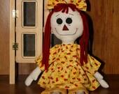 Primitive Raggedy Doll