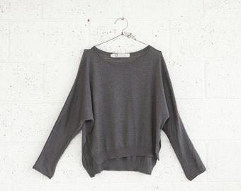 Summer Sale Autumn fashion,Grey sweater,Women