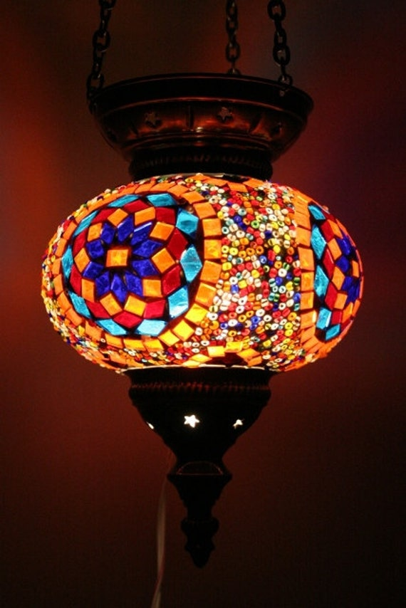 Items Similar To Large Turkish Moroccan Mosaic Hanging