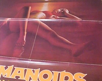 Humanoids of the Deep 1 Sh Movie Poster   vintage 80s  Rare