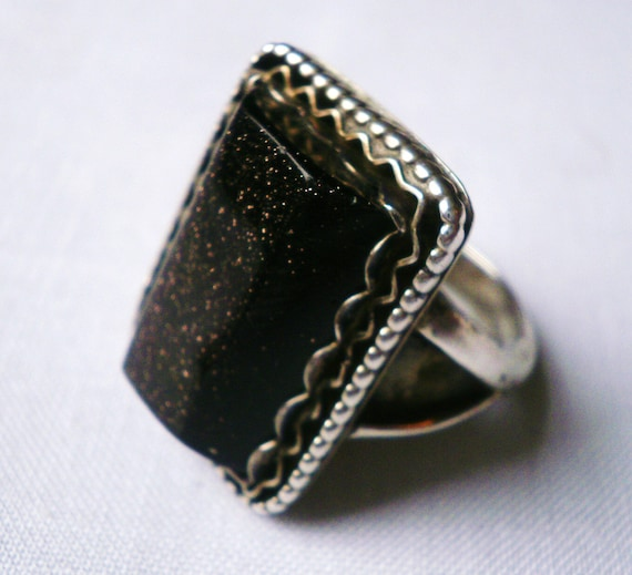 Vintage Sterling Silver Southwestern Ring