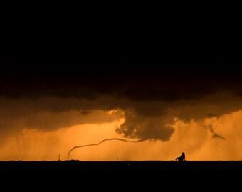 Fine art Photography print of a tornado in Kansas