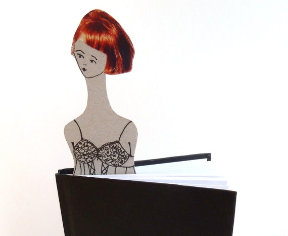 FLORENCE/ Paper doll / bookmark / magnet