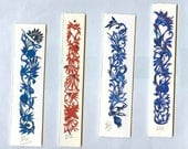 Bookmarks. Custom Made and Original Papercuts, from 5 1/2 to 7 inch in length (Random) Discount for a Few Bookmarks