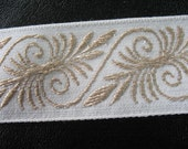 Vintage Embroiedred Ribbon.