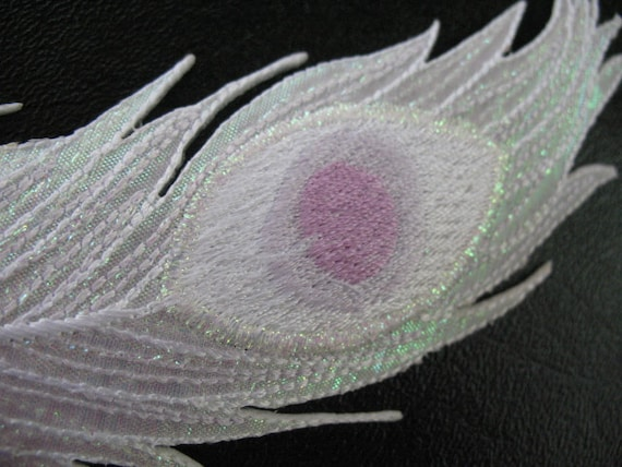 Albino Peacock Feathers Albino Peacock Feather