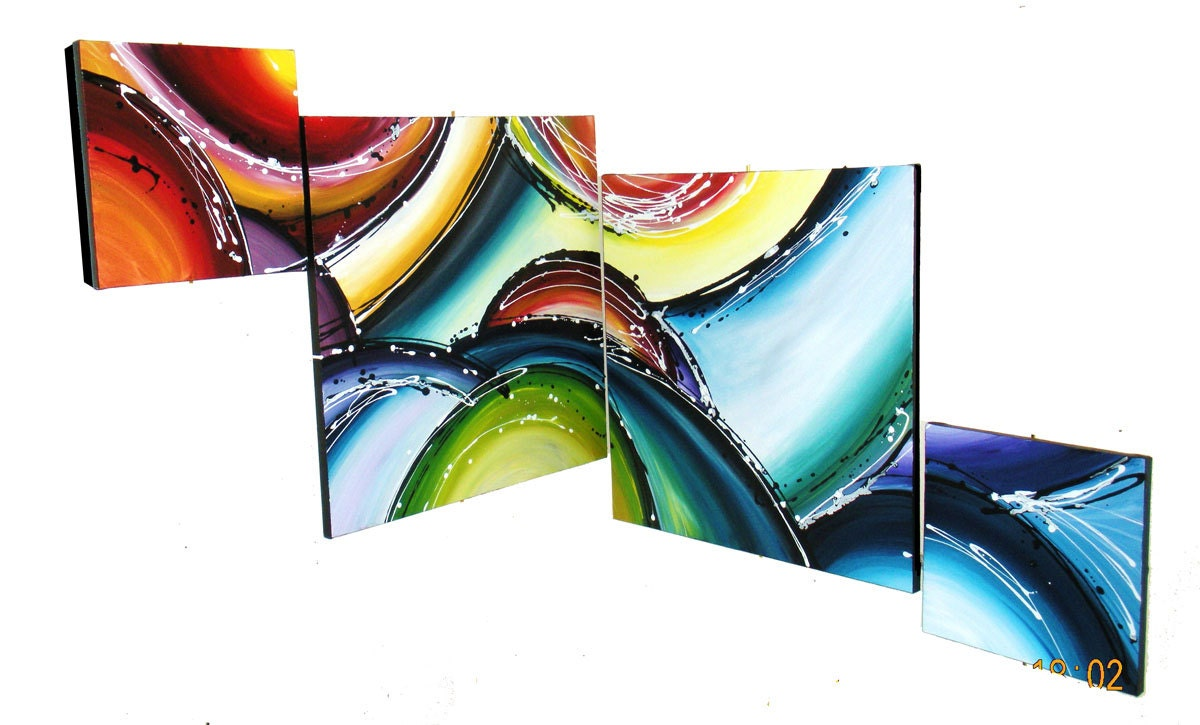 Corner Wall Art extra large painting corner wall art abstract painting large