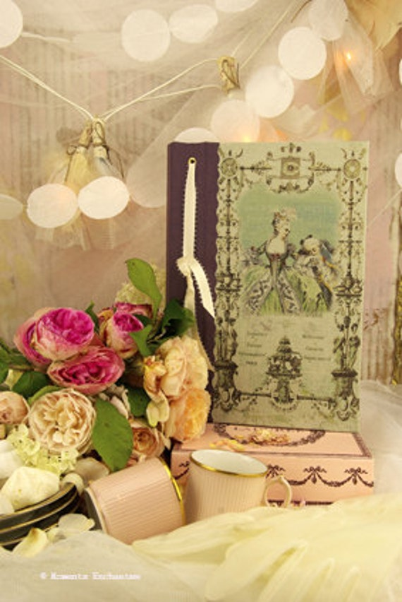 Saint Valentin Book  Marie Antoinette guest book