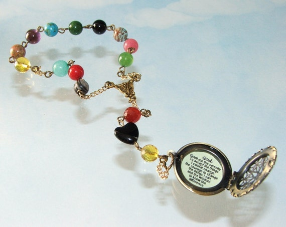 Serenity Prayer Beads - Recovery 12 Step Beads