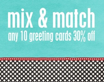 Wholesale Greeting Cards - Mix & Match Any 10 30% off