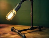 Medium Steampunk Desk Lamp