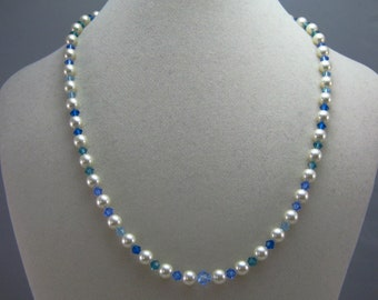 Custom vegan pearl wedding special occasion necklace CHARITY DONATION