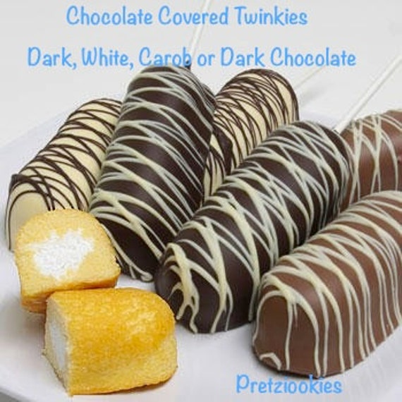 Dipped Home-Made Twinkie Cakes