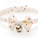Bell Cat Collar Bow with Rainbow Sprinkles