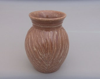 Pottery Vase - Little Matte Brown Vase - Handmade Terracotta
