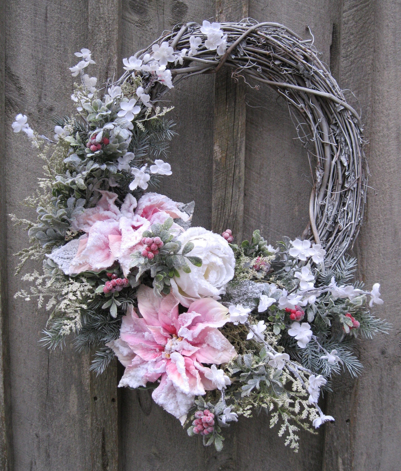 Christmas Wreath Holiday Designer Décor Elegant Christmas