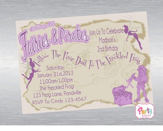 Printable DIY Custom Party Invitation