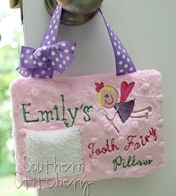 Personalized Tooth Fairy Pillow Customize your colors