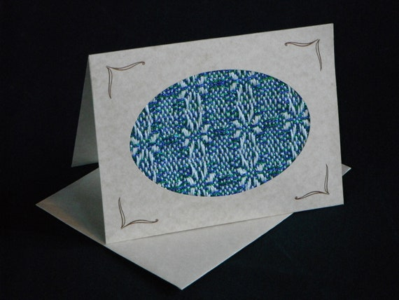 Handwoven Note Card (C66)