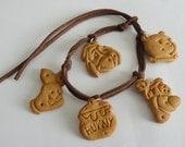 Winnie the pooh cookie bracelet