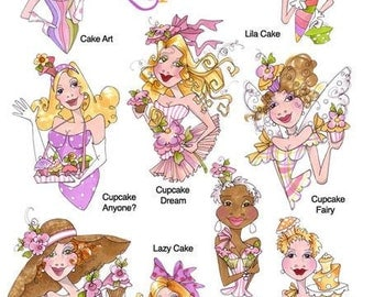 Hey Cupcake I Embroidery Design Collection - CD