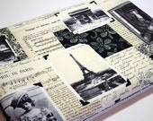 """I Miss You, Paris   15 inch  Macbook  Pro Laptop  or Any Your Laptop or Notebook up 17"""" sleeve cover Made to Order case"""