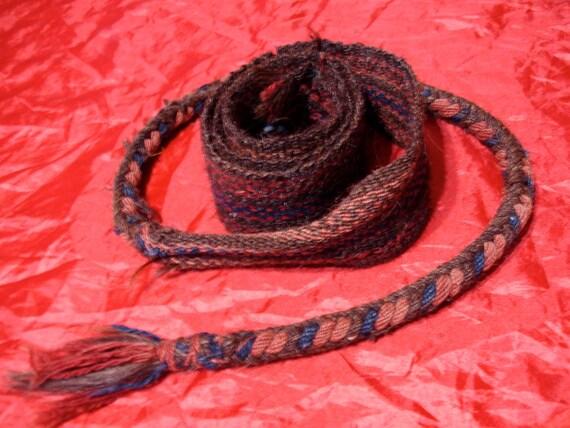 Turkish camel strap wool tie (3)