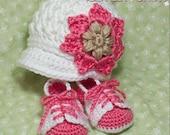 Baby Sports Crochet Pattern Includes Little Sport NEWSBOY HAT and Little Sport SADDLES digital