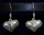 Cute Little Sterling Heart Earrings