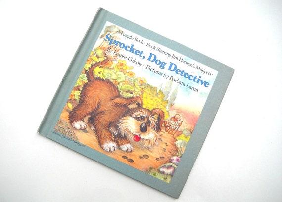 80s Fraggle Rock Book: Sprocket Dog Detective